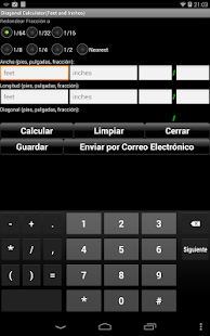 Calculador Manual: miniatura de captura de pantalla