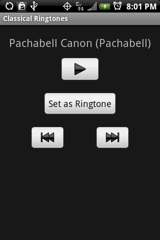 CLASSICAL Ringtones - screenshot