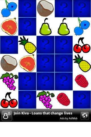 Memo - Fruits - screenshot