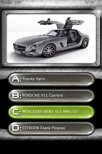 My Super Car Logo Quiz Test