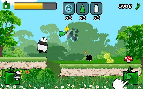 Parkour Panda Running Panda - screenshot thumbnail