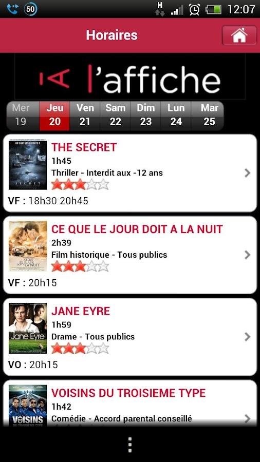 Chaumont à l'affiche- screenshot