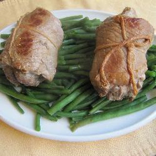 Veal Roulades with Green Beans Recipe