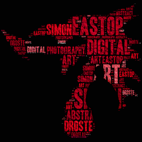 Text Of The Dragon by Simon Eastop - Typography Words ( text, wales, welsh, silhouette, dragon )