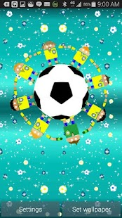 Brazil Soccer Robots Wallpaper- screenshot thumbnail