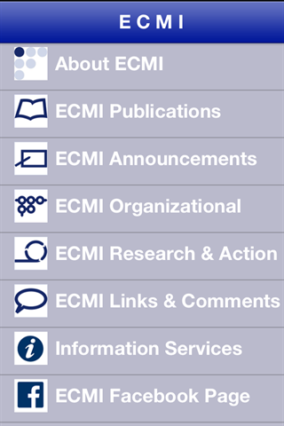 ECMI- screenshot