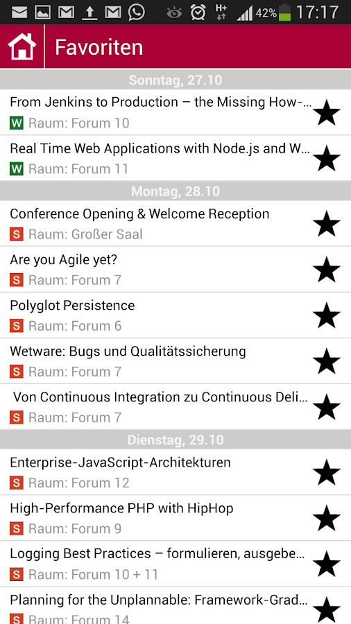 International PHP Conference - screenshot