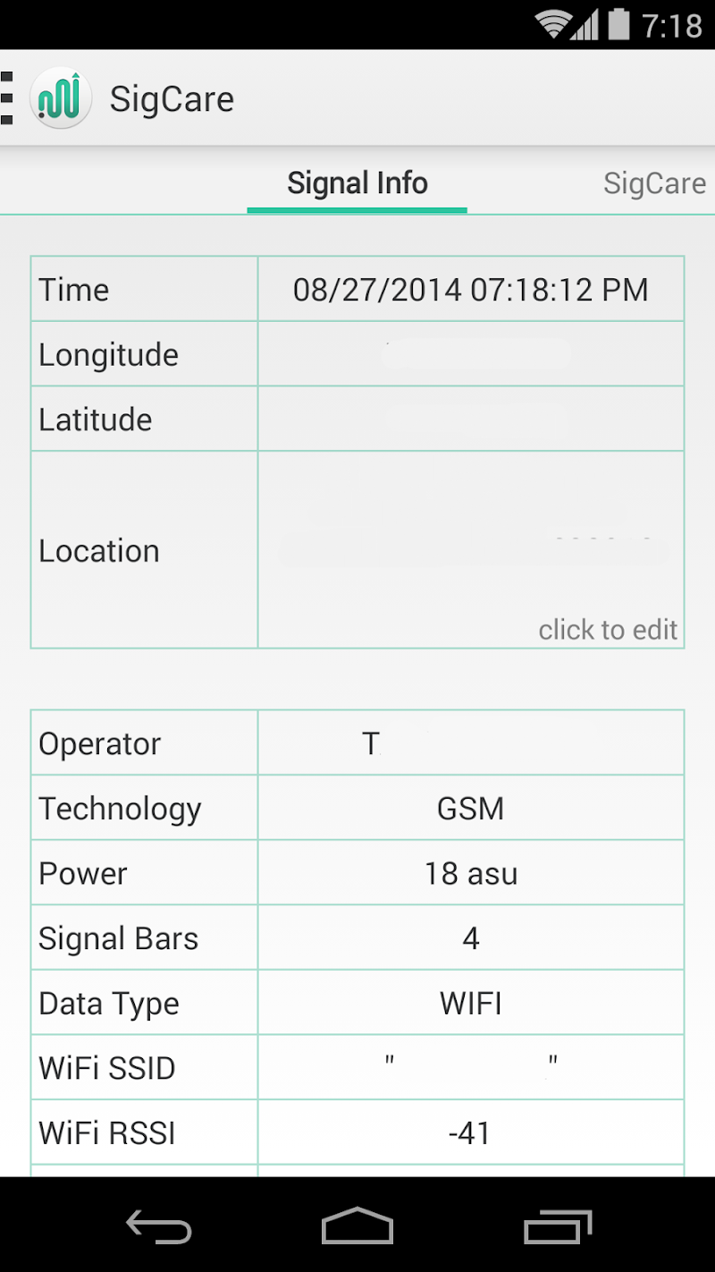 Signal Care Screenshot 4
