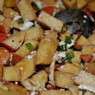 Apple and Feta Salad Appetizer.
