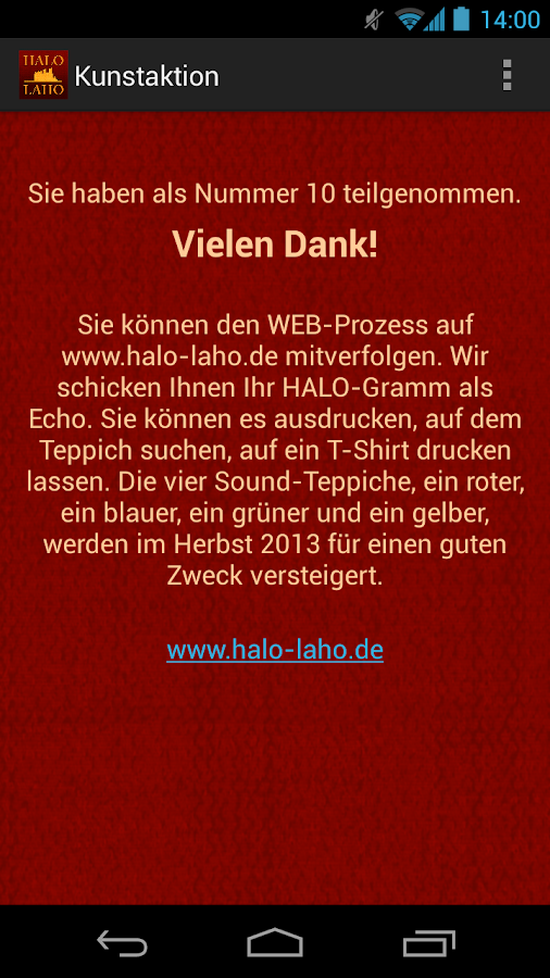 HALO-LAHO-Sound Carpet - screenshot