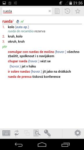 Spanish-Czech Dictionary Plus