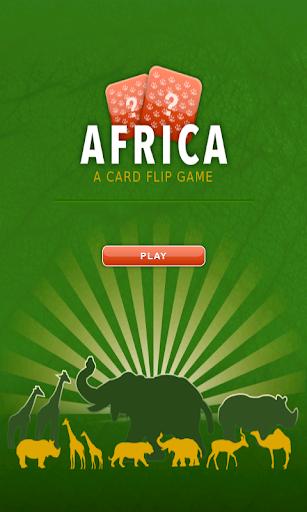 Card flip - Africa