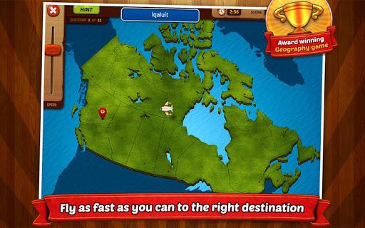 GeoFlight Canada: Geography