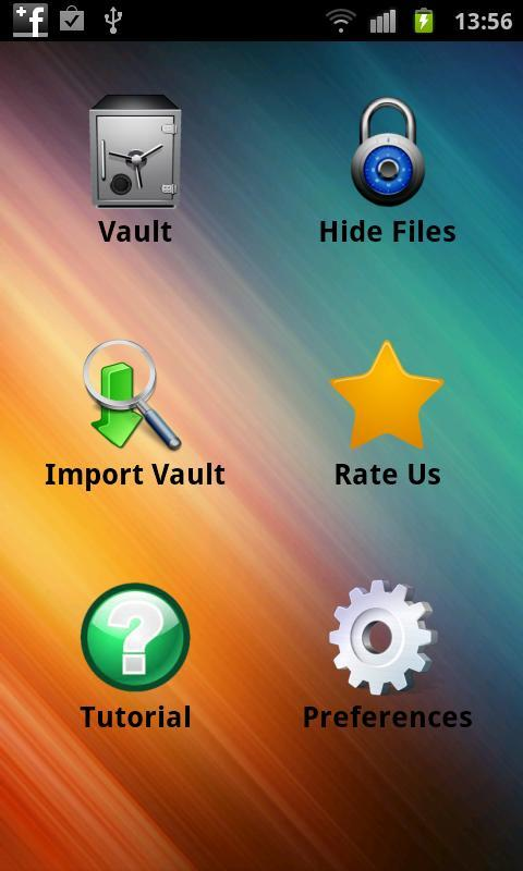 Super Vault - hide pictures- screenshot