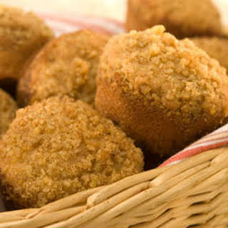 Apple-cinnamon Muffins With Streusel Topping.