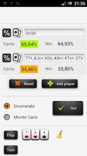 Poker Odds - Range Calculator