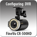 FineVu CR-500HD configuring icon