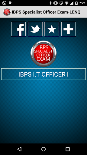 IBPS Specialist Officer Exam