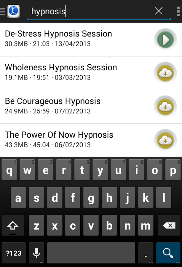 Free Hypnosis- screenshot