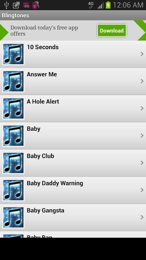 Ringtones Xl Android Apps On Google Play