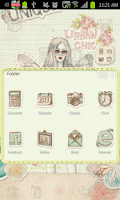 Screenshot of Collage go launcher theme