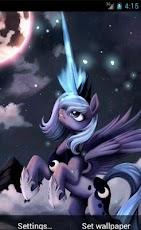 live wallpaper hd princess luna my little pony free