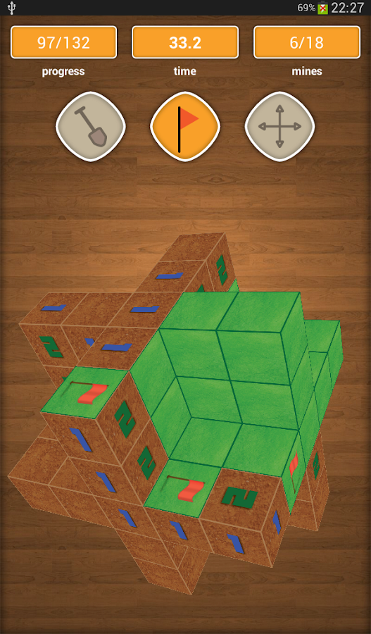 Minesweeper 3D - screenshot