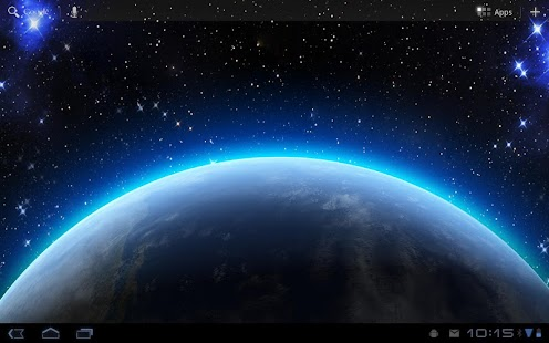 HD earth glow live wall - screenshot thumbnail