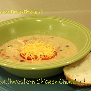 Southwestern Chicken Chowder!