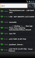 Screenshot of playStream Internet Radio