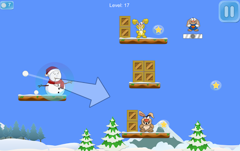 Snowman Puffy- screenshot thumbnail