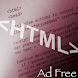 Learn HTML and iWebkit Adfree