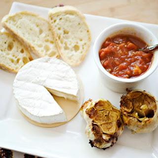 Brie, Roasted Garlic and Tomato Chutney Recipe