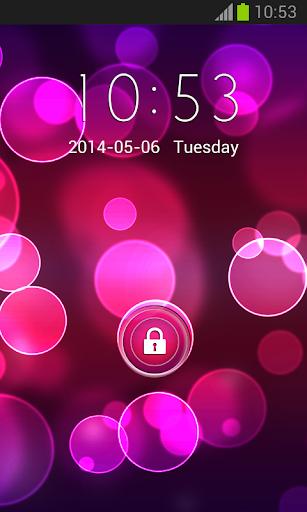 粉紅色和紫色儲物櫃