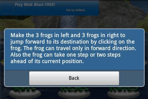Frog Jump- screenshot