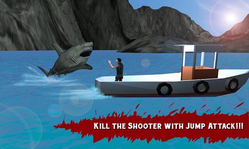 真正的虎鲨饥饿攻击