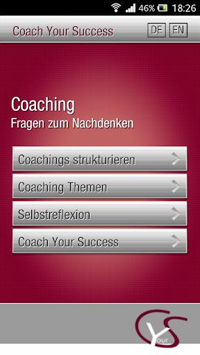 Coach Your Success • Die App