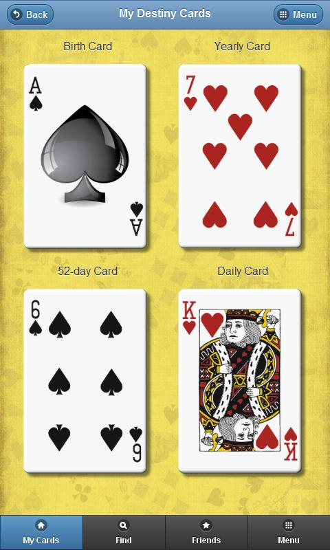 My Destiny Cards - screenshot