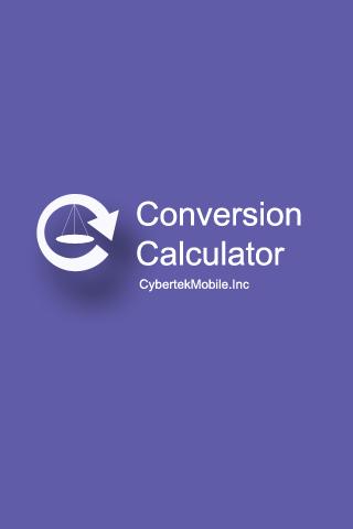 Conversion Calculator NoAD
