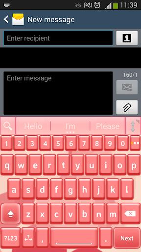 一. 我. 键入桃粉色