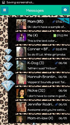 GO SMS - Diamond Blitz 9