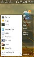 Screenshot of Simplism theme for ssLauncher