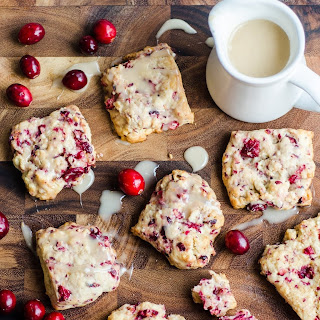 Fresh Cranberry Scones.