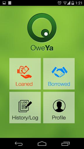 玩免費商業APP|下載Loan Transaction Tracker OweYa app不用錢|硬是要APP