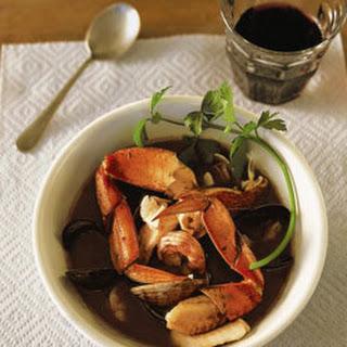 Genoese Cioppino (Genoese Seafood Stew).