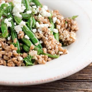 Warm Green Bean and Farro Salad Recipe