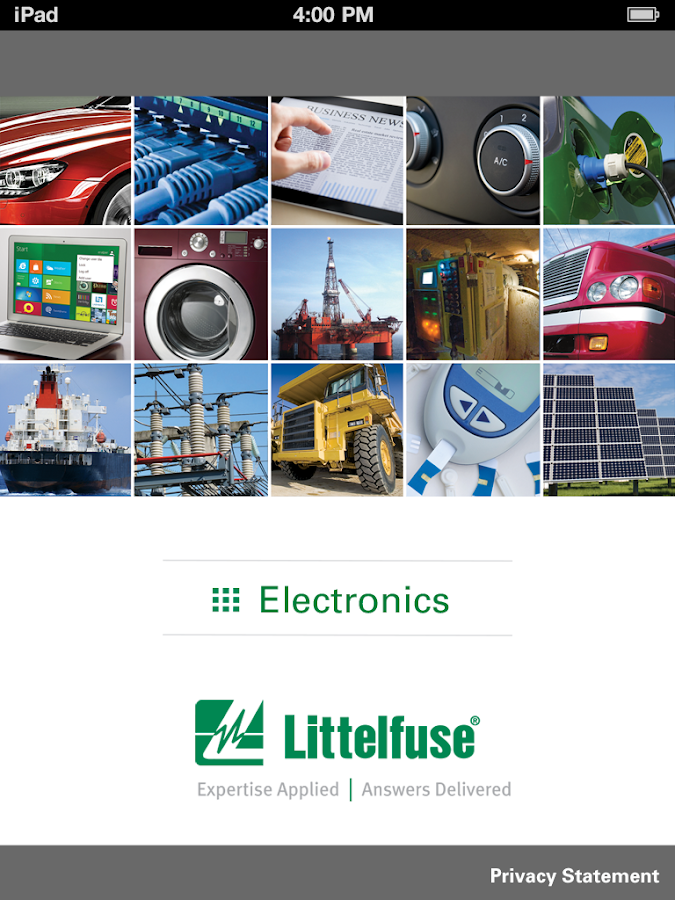 Littelfuse Catalogs- screenshot