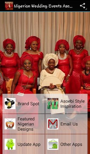 Nigerian Wedding Events Asoebi
