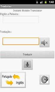 Tradutor - screenshot thumbnail