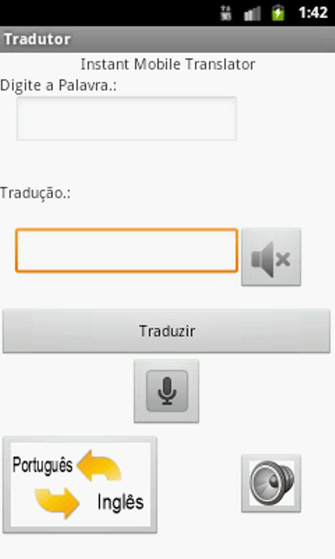 Tradutor - screenshot